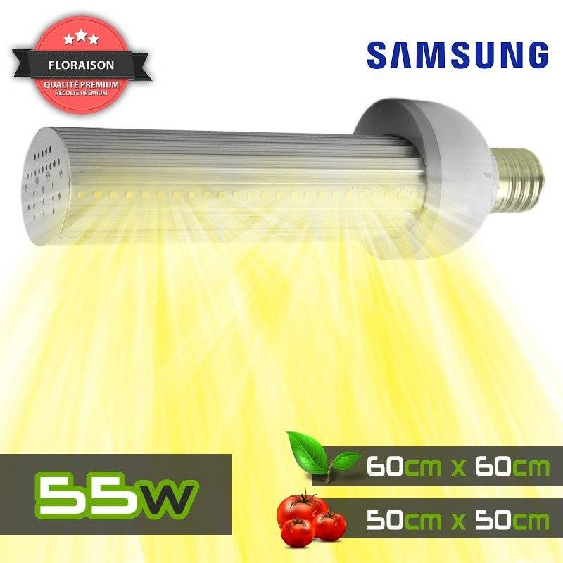Pack 1m² - 4x SpectraBUD X60 - Silencioso e impermeable - CREE CXB3590