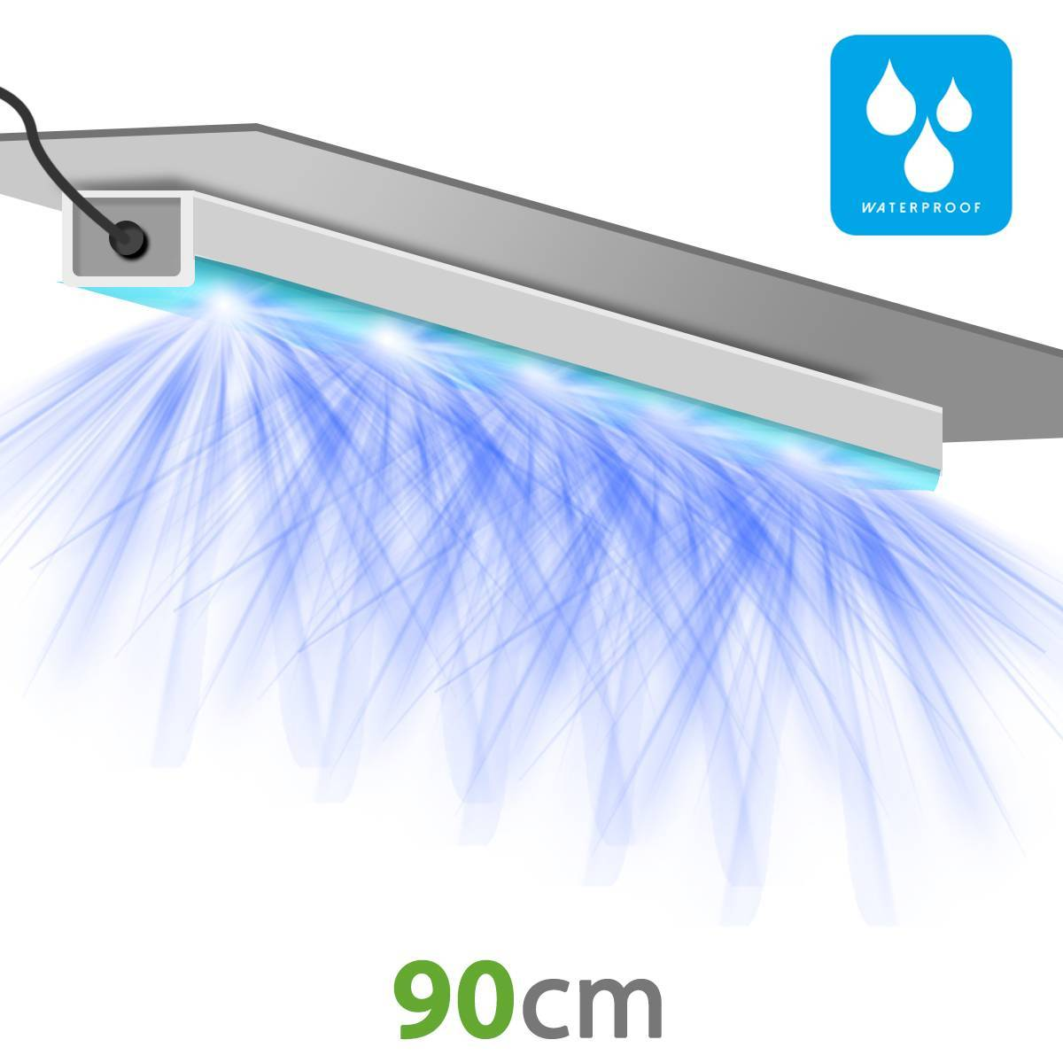 Pack x2 - SpectraB.2.G X300 - LED horticultural bars with flowering booster - CITIZEN - Growth and flowering
