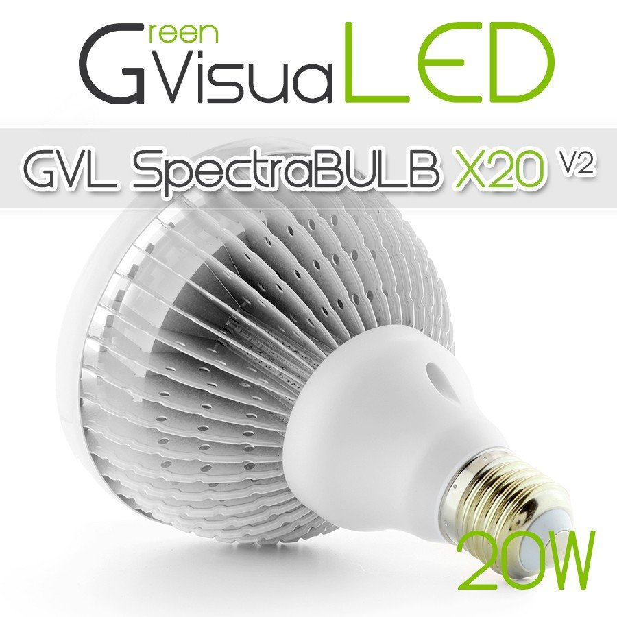 SpectraLINE IP65 90cm 30W - Waterproof - LED Horticultural Bar for area of 100cm x 25cm - Growth