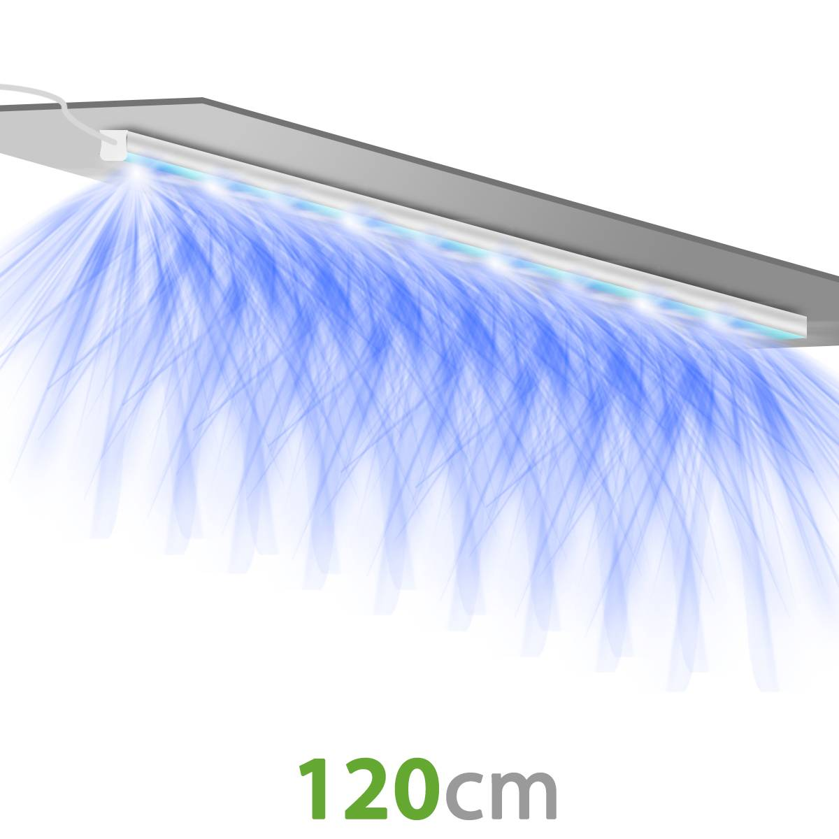 Pack x2 - SpectraPANEL X320 LED Horticultural Lamps - Connect your lamps together