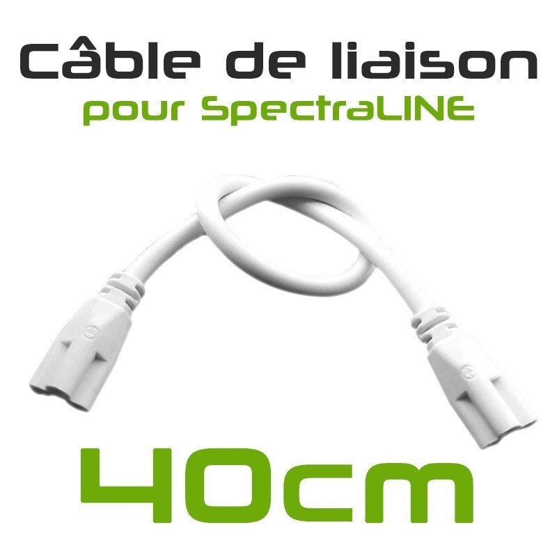 Pack x3 - SpectraPANEL X160 LED Horticultural Lamps - Connect your lamps together