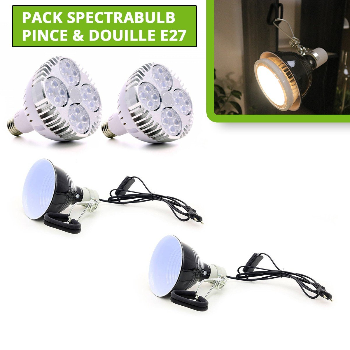 Complete kit for cuttings - Greenhouse + 24 cubes + cutter gel + scalpel - rootit