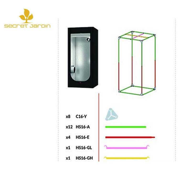 X-WALL - T10 - Support de fixation pour l'éclairage de murs végétaux - Compatible GU10