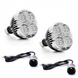 GVL - SPOT 45 - Eclairage horticole LED pour plantes sur RAIL 360°
